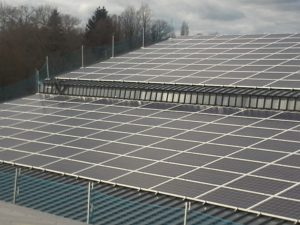 Centrale photovoltaïque La Crénais