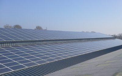 Mise en service de la 1ère centrale photovoltaïque de West Energies