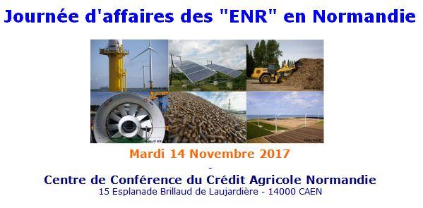 Invitation journée d'affaires des ENR