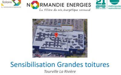 West Energies sensibilise au financement de grandes toitures photovoltaïques